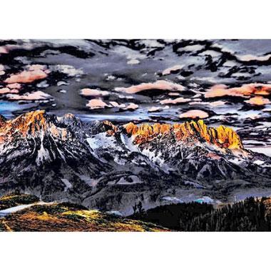 Mountain landscape puzzel - 1000 stukjes