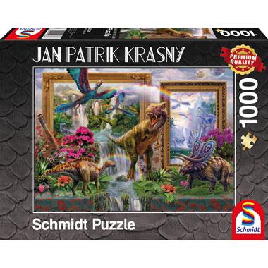 Dinosaurs Coming to live puzzel - 1000 stukjes