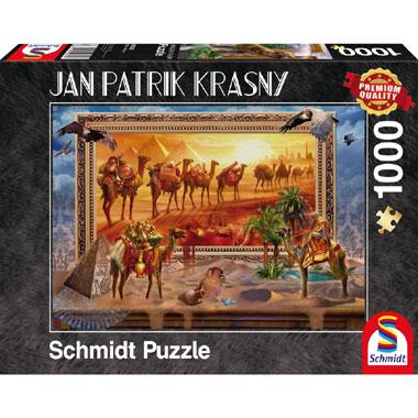 Egyptian Coming to live puzzel - 1000 stukjes