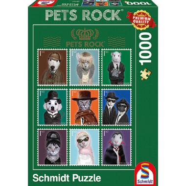 Pets Rock Cinema puzzel - 1000 stukjes