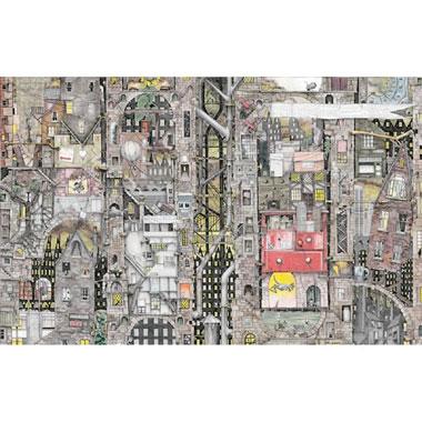 Puzzel Fantastic Townscape - 1000 stukjes