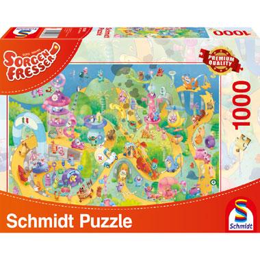 Ready steady go puzzel - 1000 stukjes
