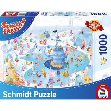 Winter fun puzzel - 1000 stukjes
