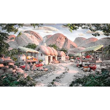 Little Mountain Village puzzel - 1000 stukjes