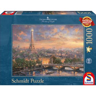 Paris City of Love puzzel- 1000 stukjes
