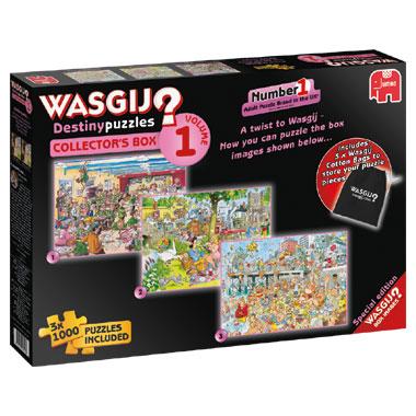 Jumbo Wasgij Destiny Collectors puzzelbox - 3 x 1000 stukjes