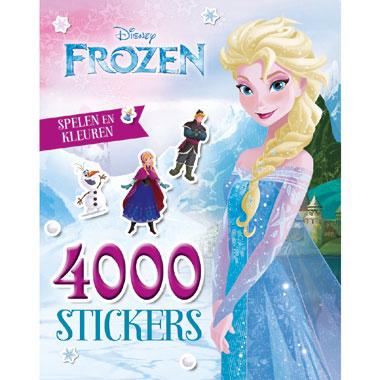 Disney Frozen spelen en kleuren 4000 stickers