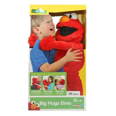 Sesamstraat mijn grote knuffel Elmo - Engelstalig