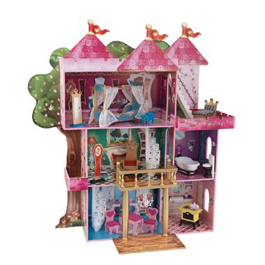 Sprookjeskasteel poppenhuis