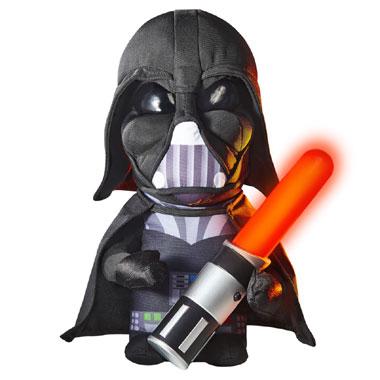 Star Wars Go glow Darth Vader knuffel en lampje