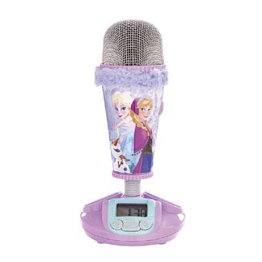 Disney Frozen microfoon en wekker