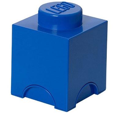 LEGO opbergbox brick 1 - blauw