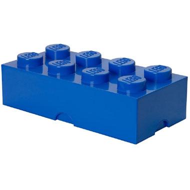 LEGO opbergbox brick 8 - blauw
