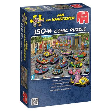 Jumbo Jan van Haasteren puzzel Kermis botsauto's - 150 stukjes