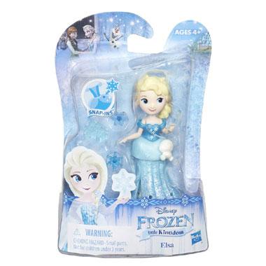 Disney Frozen mini poppen Elsa
