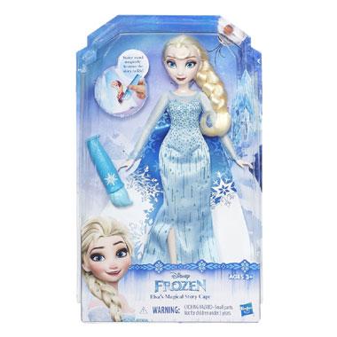 Disney Frozen prinsessen met magische jurk Elsa