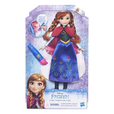 Disney Frozen prinsessen met magische jurk Anna