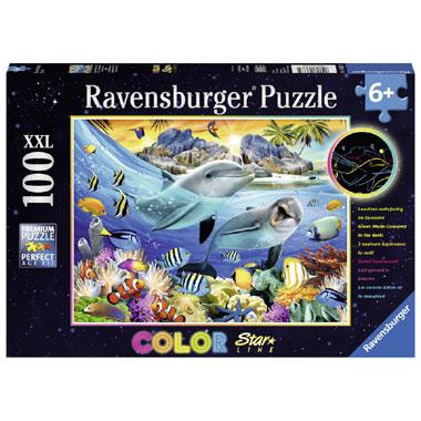 Ravensburger Starline puzzel Schitterend koraalrif - 100 stukjes
