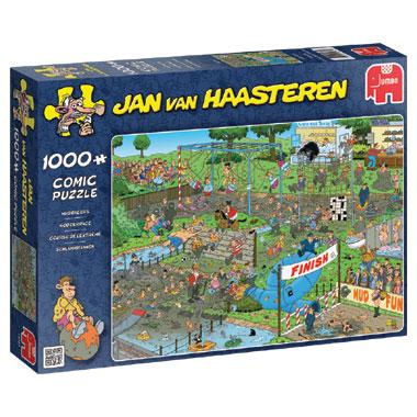 Jumbo Jan van Haasteren puzzel modderrace - 1000 stukjes