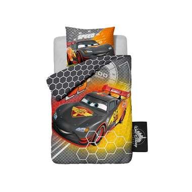Cars Carbon dekbedovertrek - 140 x 200 cm