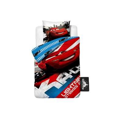 Cars Lightning dekbedovertrek - 140 x 200 cm - wit