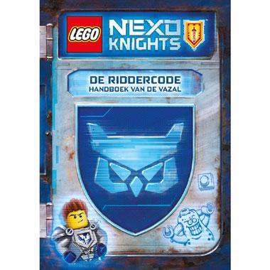 LEGO Nexo Knights de Riddercode - handboek voor de vazal