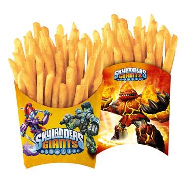 Skylanders Giants patatbakjes - 4 stuks
