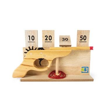 BuitenSpeel - Elastiekenpistool - hout