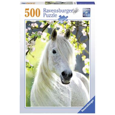Ravensburger merrie in de lente puzzel - 500 stukjes