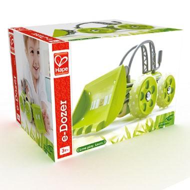 e-Dozer bamboe bulldozer - groen