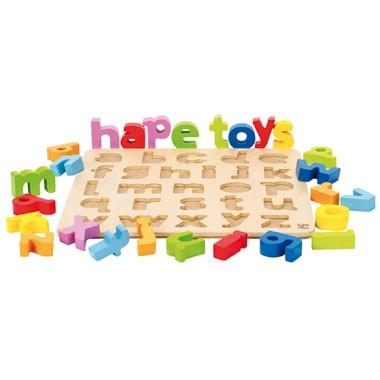Houten puzzel alfabet - klein