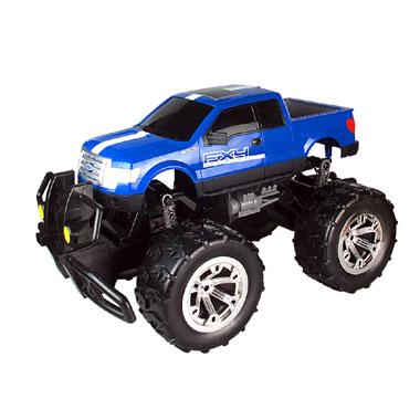 Op afstand bestuurbare auto Racetin Ford 2011 F150 XLT 1:18 - blauw