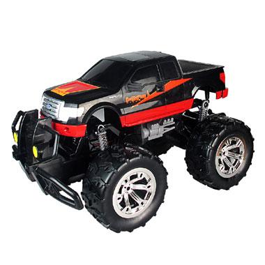 Op afstand bestuurbare auto Racetin Ford 2011 F150 XLT 1:10 - zwart/rood