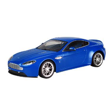 Op afstand bestuurbare auto Racetin Aston Martin - V8S 1:16 - blauw