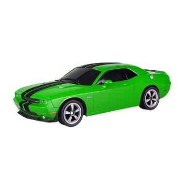 Op afstand bestuurbare auto Racetin Dodge Challenger SRT8 1:16 - blauw