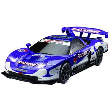 Op afstand bestuurbare auto Racetin Honda NSX Super GT 1:28 - blauw