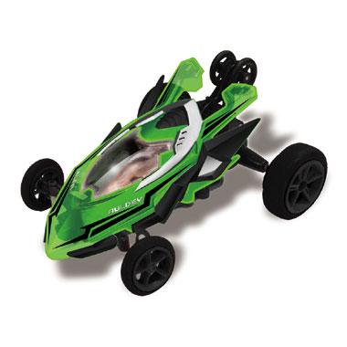 Op afstand bestuurbare auto Racetin Micro Stunt 1:32 - groen