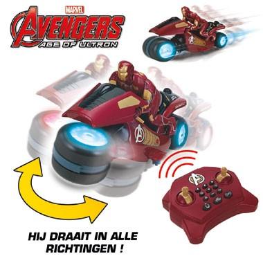 Op afstand bestuurbare Avengers Iron Man U-command motorfiets - 30