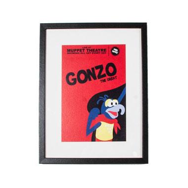 Disney Gallery Gonzo poster