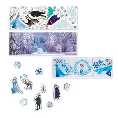 Disney Frozen muurdecoratie set 2