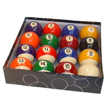 Poolballen - 48 mm