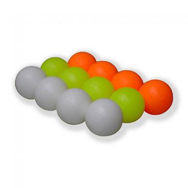Tafelvoetbalballen in 3 kleuren - 12 stuks