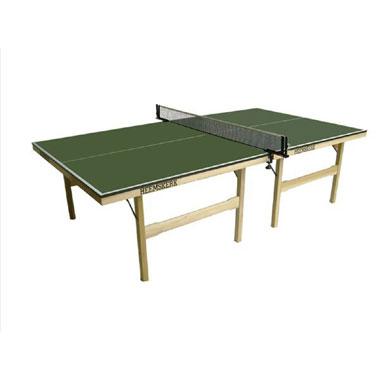 Original tafeltennistafel met onderstel - hout - groen
