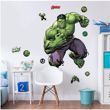 Avengers The Hulk stickers - 120 cm