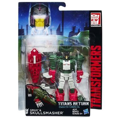 Transformers Deluxe Titan Wars Skullmast