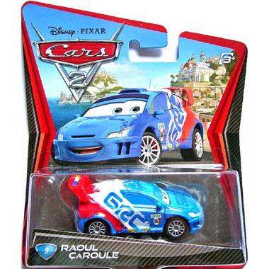 Disney Cars 2 Raoul Caroule