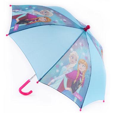 Frozen paraplu blauw