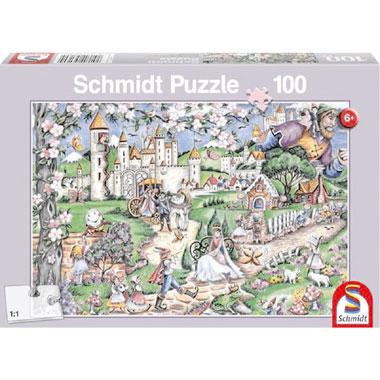 Fairytale world puzzel - 100 stukjes