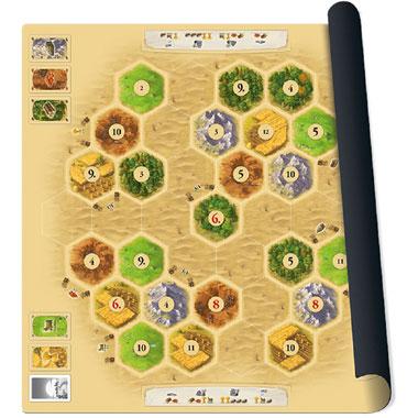 Catan playmat Desert