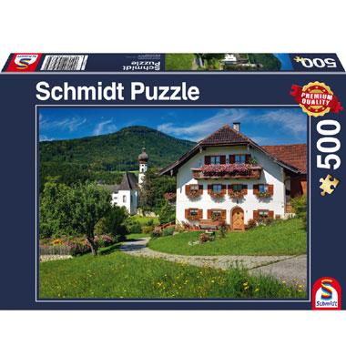 Vakantie in Klooster Höglwörth Oberbayern puzzel - 1000 stukjes